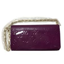 louis vuitton clutch bag. louis vuitton clutch bags patent leather purple ref.25762 bag
