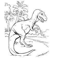 Leuk Voor Kids Kleurplaat T Rex