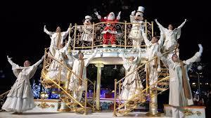 Mickeys Magical Christmas Lights Tree Lighting Ceremony At Disneyland Paris 2018 W Mickey Minnie