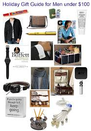 holiday gift guide man men 100 holiday gift guide for him gifts under 100