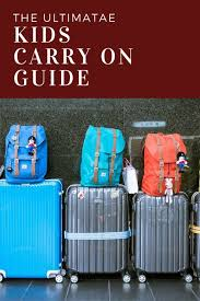 Best Kids Carry On Luggage In 2019 Hot Trends In Kids