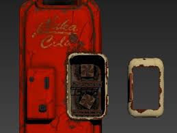 Nuka Cola Vending Machine For Sale Awesome Fallout Nuka Cola Machine Mini RefrigeratorFallout 48 Nuka Cola Mini