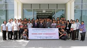 toyota ph sends off 1st batch of diagnosis technicians to toyota saudi dealerships
