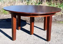 mission round dining table maggieepage com mission round pedestal dining table