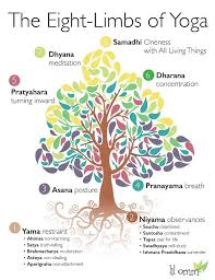 8 Limbs Of Yoga Chart The Eight Limbs Of Yoga Diagram Quizlet