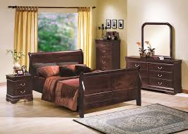 Louis Bedroom Furniture Cherry Louis Philip Bedroom Set Mfl