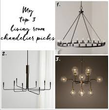 because we would hang two chandeliers to replace the pre existing ceiling fans i thought 3 while i love it would be too busy for the space and the hefty