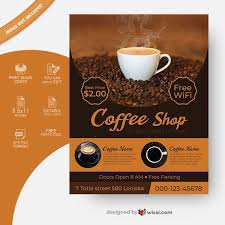 Report a violation add to list. Coffee Shop Flyer Template Free Download Wisxi Com