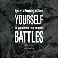 Military Quotes Amazing Inspirational Military Quotes If You Know The Enemy And Know