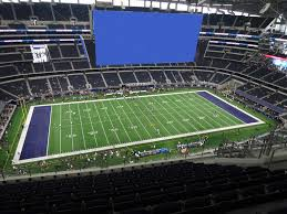 At T Stadium View From Upper Reserved 415 Vivid Seats