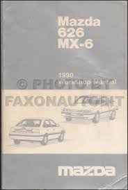 mazda 626 wiring diagram service manual mazda 1990 mazda 626 and mx 6 wiring diagram manual original on mazda 626 wiring diagram service