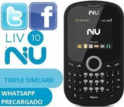 NIU LIV 10 con Whatsapp, Facebook y ...
