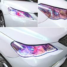 Car Light Film Details About Chameleon Color Changing Tint Vinyl Wrap Sticker Headlight Film Car Light Lamp