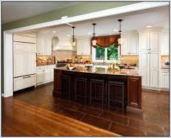 tile floor transition to wood doorway