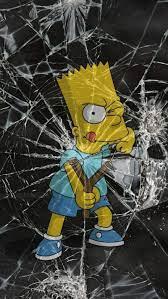 Bart Simpson, universe, garnet, para ...