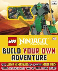 LEGO Ninjago Build Your Own Adventure: 9780241187562: Amazon.com: Books