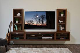 floating entertainment center wall mount tv stand eco geo mocha inside wall mounted entertainment unit