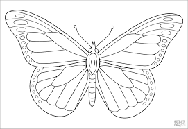 Be sure to visit our butterfly activities page for more interesting projects like kits for raising live butterflies! Monarch Butterfly Coloring Page Coloringbay