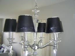 chandeliers chandelier black shade crystal drops full image for black chandelier lamp shade 75 trendy