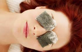 Image result for چای کیسه ای سرد برای دور چشم