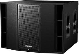 pioneer 10 inch sub. pioneer xprs215s dual 15-inch powered subwoofer 10 inch sub