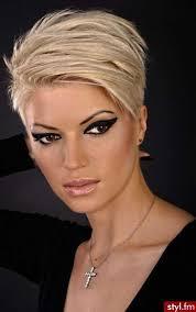 30 Short Blonde Hairstyles účesy účesy Z Krátkých Vlasů Krátké