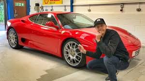 Trying Different Wheels On My Ferrari 360 Youtube