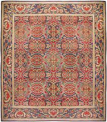 oversized antique french aubusson carpet bb0181