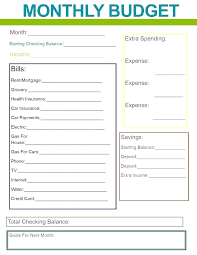 Budget For Young Adults Simple Budget Template For Young Adults Simple Budget