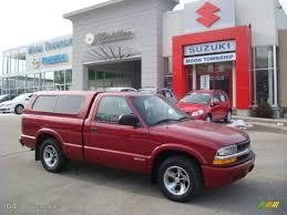 1999 Dark Cherry Red Metallic Chevrolet S10 LS Regular Cab ...