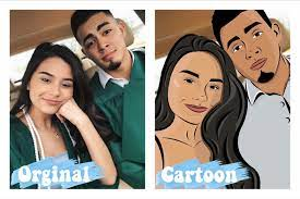 turn yourself into a cartoon by