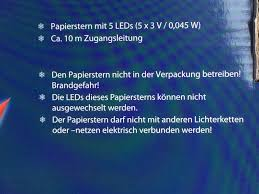 Led Weihnachtsstern Rot