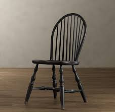 windsor side chair wooden chairs restoration hardware