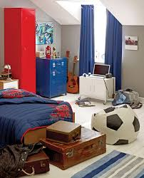 football decor for bedroom. bright boys bedroom decoration with football theme decor for y