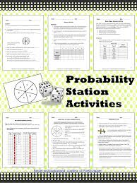 Probability Station Activities | Activities, Number and Third