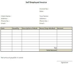 Uk Invoice Sample 11 Self Employed Invoice Template Uk 7 Invoice Template