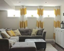 basement curtain ideas. Fine Ideas Floor To Ceiling Curtains Will Dress Up Those Tiny Basement Windows  Pertaining For Window Wells Design With Curtain Ideas M