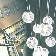 hanging ball chandelier ball chandelier hanging glass bubble chandelier