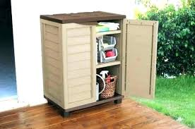 plastic outdoor storage cabinet. Plastic Storage Cabinets With Doors  Backyard Sheds Outdoor . Cabinet