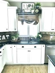 ideas for above kitchen sink with no window window over kitchen sink ideas above window decor