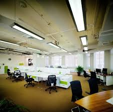office light fixtures. Aluminum Office Lighting Fixture , 140watt T5 Fluorescent Light Fixtures