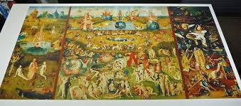 bosch the garden of earthly delights. By Hieronymus Bosch, The Garden Of Earthly Delights. Educa Puzzle 9000 Pieces. | Bosch Delights