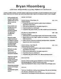 Business Analyst Modern Resume Template Sample Business Resume For Marketing Templates Doc Free