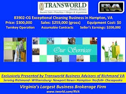 advertising a cleaning business cleaning businesses for sale transworld business advisors