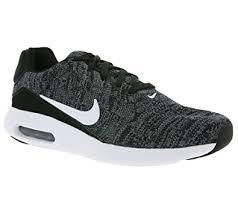 nike shoes air max grey. nike men\u0027s air max modern flyknit, black/white-cool grey-university red nike shoes grey