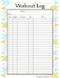 Diet Log Sheets Printable Blank Logs Woodnartstudio Co