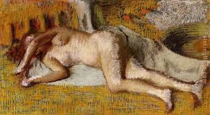 after the bath i painting edgar degas after the bath i art painting