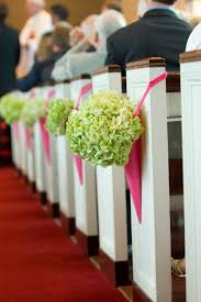 Of Wedding Decorations In Church Pew Decorations For Wedding Home Designing