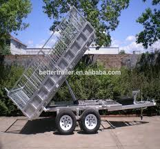 Tipping Box Trailer Designs Twin Axle Braked Trailer Hydraulic Folding Utility Truck Tipping Trailer Buy Trailer Tipping Trailer Folding Utility Trailer Product On Alibaba Com