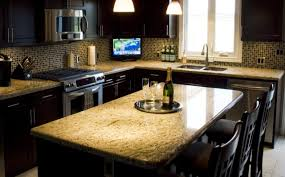 Kitchens With Giallo Ornamental Granite Granite Countertops Timmins North Bay New Liskeard Cochrane